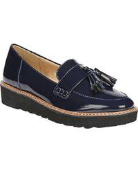 Naturalizer Blue August Platform Tassel Loafer