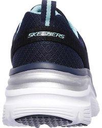 Skechers - Blue Fashion Fit Up A Level Sneaker - Lyst