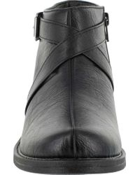 Easy Street - Black Shannon Ankle Boot - Lyst
