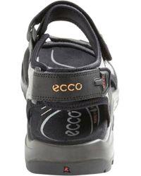 Ecco Black Yucatan Sandal 69564 for men