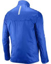 Yves Salomon Blue Agile Wind Jacket for men