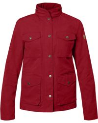 Fjallraven Red Raven Jacket