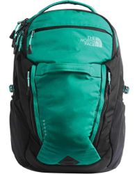 The North Face Green Surge Backpack