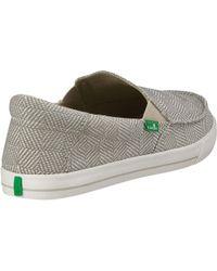 Sanuk Multicolor Sideline Checked Slip On Sneaker for men