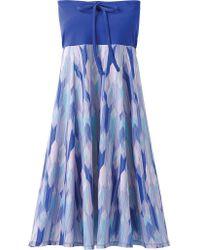 Prana Blue Solana Dress