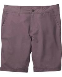 Toad&Co Purple Drop-in Short for men