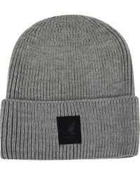 Bailey of Hollywood - Gray Patch Beanie for Men - Lyst