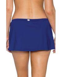 Sunsets Blue Kokomo Swim Skirt