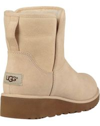 Ugg Natural Kristin Ankle Boot