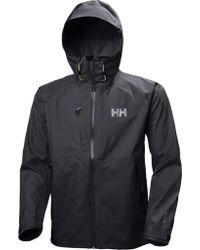 Helly Hansen Blue Vanir Baldur Ski Jacket for men