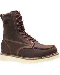 Wolverine - Brown Loader 8' Wedge Soft-toe Boot for Men - Lyst
