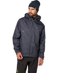 Helly Hansen Blue Loke Saga Jacket for men