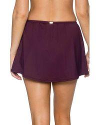 Sunsets Purple Sidekick Swim Skirt