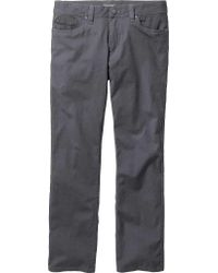 """Toad&Co Gray Seward Canvas Pant 30"""" for men"""