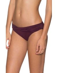 Sunsets Purple Twist And Shout Sash Low Rise