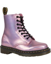Dr. Martens Pink Pascal 8-eye Boot