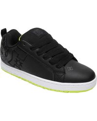 DC Shoes - Black Court Graffik for Men - Lyst