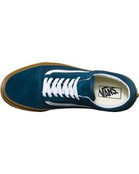 Vans - Blue Old Skool Sneaker for Men - Lyst