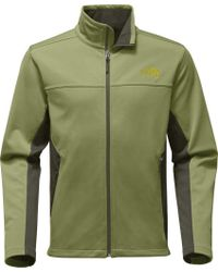 The North Face - Green Apex Canyonwall Jacket for Men - Lyst