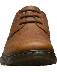 Dr. Martens Brown Elsfield 3-eye Shoe for men