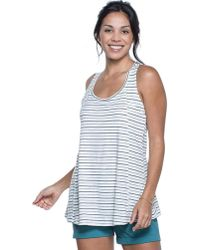 Toad&Co Blue Paintbrush Tank