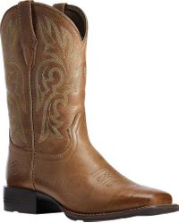 Ariat Brown Cattle Drive Cowgirl Boot