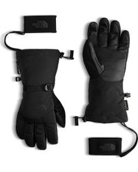 The North Face Black Montana Gore-tex Glove for men
