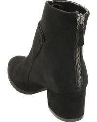 Sesto Meucci Black Foss Ankle Boot