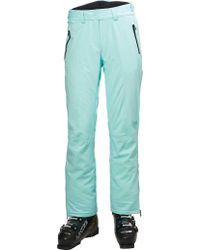 Helly Hansen Green Arosa Ski Pant