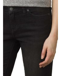 Prana Black Geneva Jean Regular Inseam