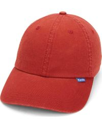 Keds - Red Core Classic Twill Cap - Lyst