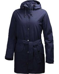 Helly Hansen Blue Lyness Insulated Coat
