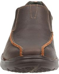 Clarks Brown Cotrell Step Bicycle Toe Shoe for men