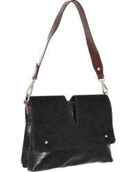 Nino Bossi Black Zaira Shoulder Bag