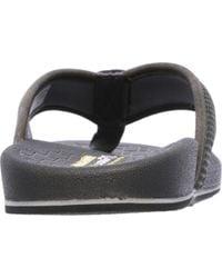 Skechers Gray Relaxed Fit Pelem Emiro Flip-flop for men