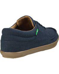 Sanuk Blue Tko Sneaker for men