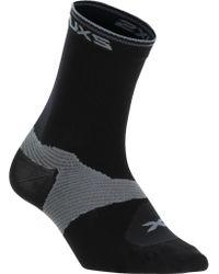 2xu - Black Cycle Vectr Socks (2 Pairs) - Lyst