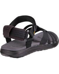 Teva Black Sanborn Ankle Strap Sandal