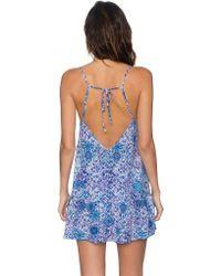 Sunsets Blue Riviera Dress