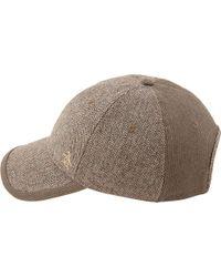 Original Penguin - Brown Herringbone Baseball Cap for Men - Lyst