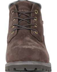 Lugz - Brown Huddle Ankle Boot for Men - Lyst