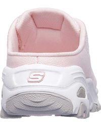 Skechers Pink D'lites A New Leaf Sneaker Clog