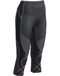 CW-X - Black 3/4 Length Ventilator Tights - Lyst