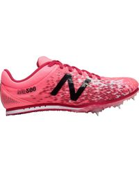 New Balance Pink Md500v5 Middle Distance Track Spike