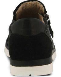 Spring Step Black Garel Slip-on for men