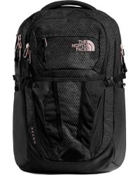 The North Face Black Recon Backpack for men