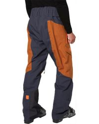 Helly Hansen Blue Wasatch Shell Pant for men