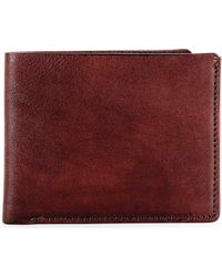 Bosca Multicolor Old Leather 8 Pocket Deluxe Executive Wallet for men