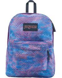 Jansport - Blue Superbreak Backpack - Lyst