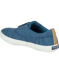Sperry Top-Sider Blue Wahoo Cvo Sneaker for men